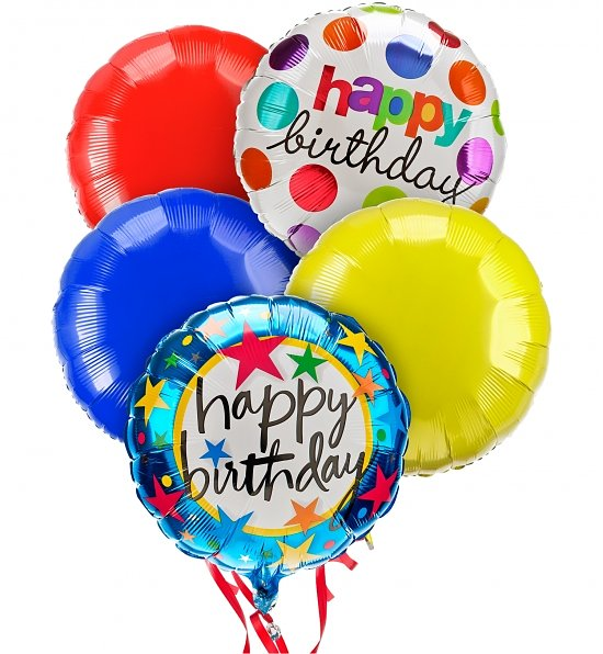 Birthday Balloons Delivery Mylar