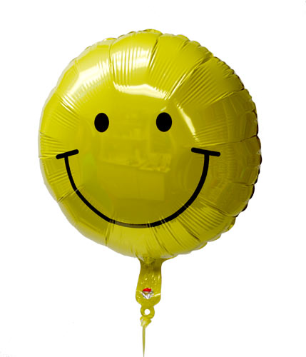 Smiley Face Mylar Balloon Smiley, Happy, Mylar, Balloon, Delivery, Philadelphia