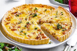 Pie and Plate Quiche Combo